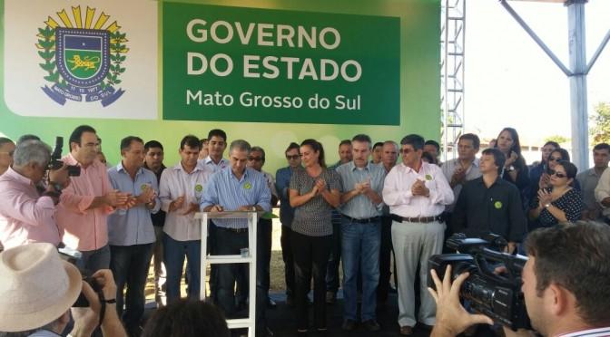 MS é maior que a crise, diz Reinaldo ao destacar investimento de R$ 8 bi da Fibria