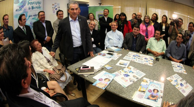 Festival de Inverno: Reinaldo reativa no dia 30 o sinal da TVE em Bonito