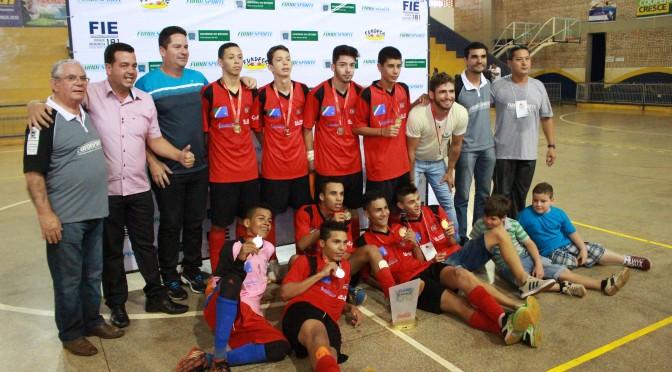 Garotos de Sonora são campeões do futsal dos Jogos da Juventude