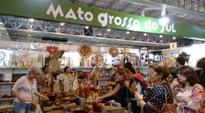 Arte sul-mato-grossense movimenta R$ 120 mil na Feira Nacional Artesanato