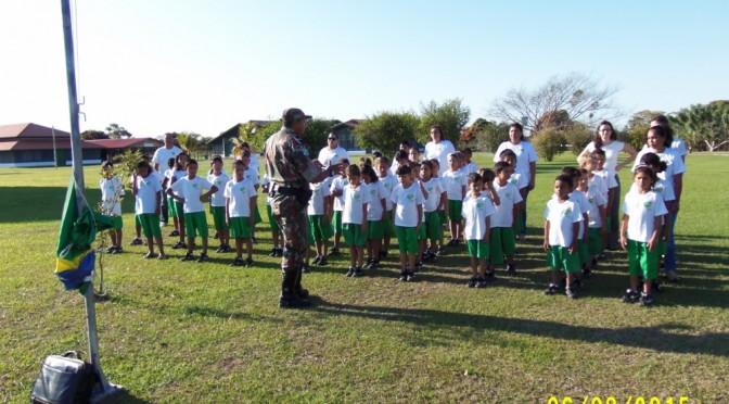 PMA realiza Educação Ambiental em escola rural às margens do rio Paraguai no Pantanal