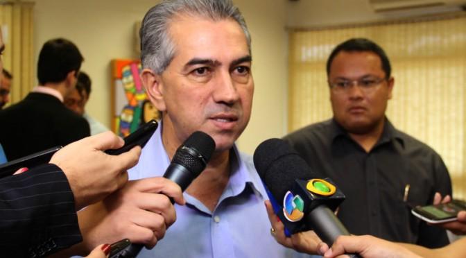 Reinaldo Azambuja lança Grupamento Especializado com o Apoio de Motocicletas da Polícia Militar