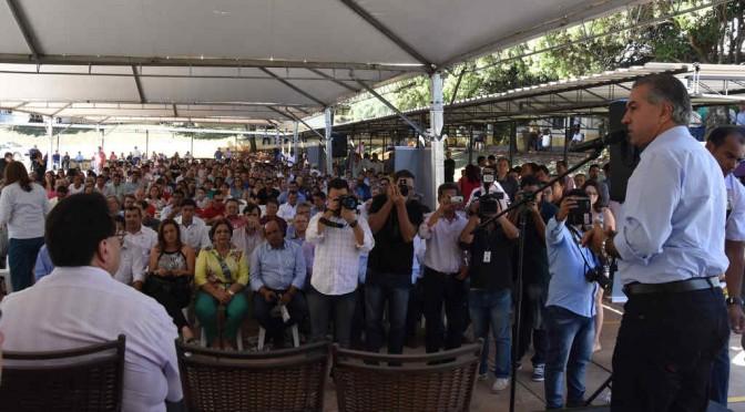 Campanha de Conscientização: Reinaldo destaca ações do Governo para contornar a crise no Estado