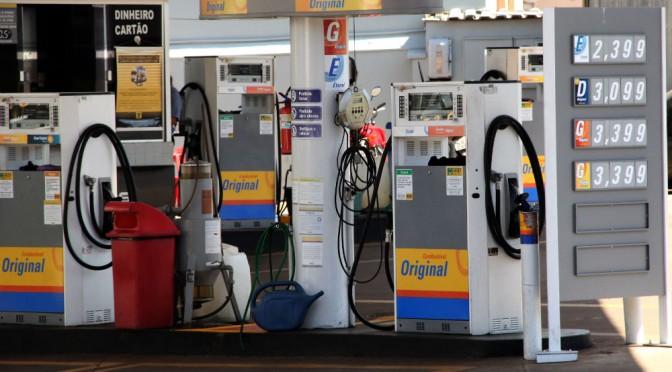Postos da capital tem 10 dias para justificar aumento no preço dos combustíveis