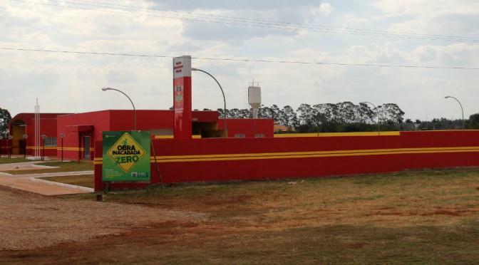 Com investimento de R$ 1,5 milhão, Reinaldo inaugura nova sede dos Bombeiros em Sidrolândia
