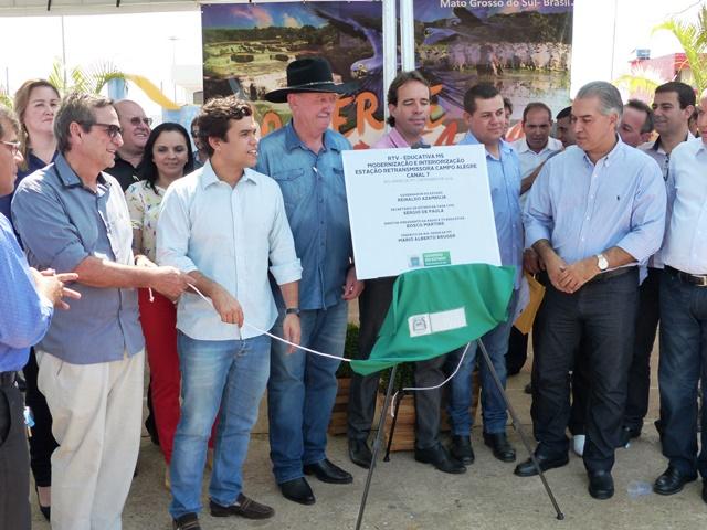 TVE em Rio Verde: Governador destaca programação regional
