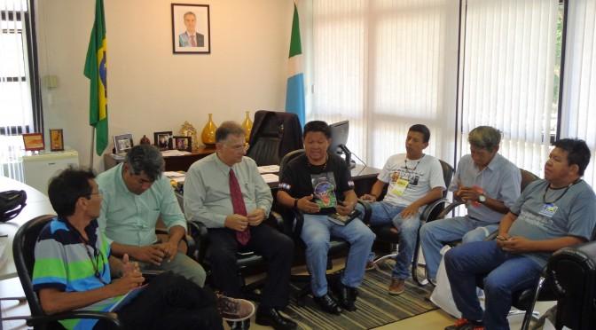 Secretário se reúne com comunidades indígenas e debate assistência para aldeias de MS