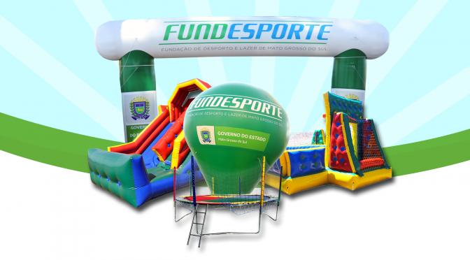 Fundesporte leva lazer e diversão para Corumbá, Bonito e Campo Grande neste fim de semana