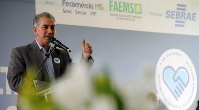 Governador destaca maior transparência e economia nas compras através do COMPRASGOV