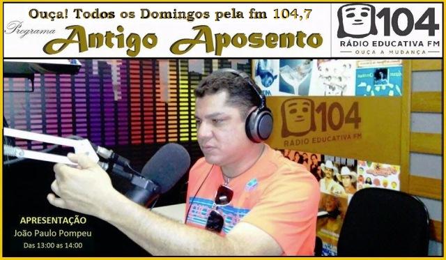 Domingo tem música caipira na 104 FM; curta sertanejo de raiz das 13h às 14h