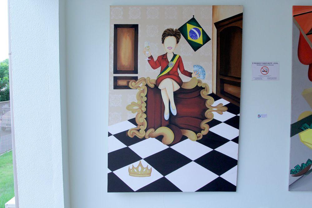 Unigran Capital abre mostra com 60 obras de artistas de MS