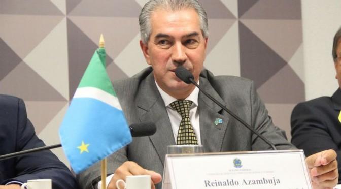 Reinaldo propõe à presidente Dilma solução para conflito indígena