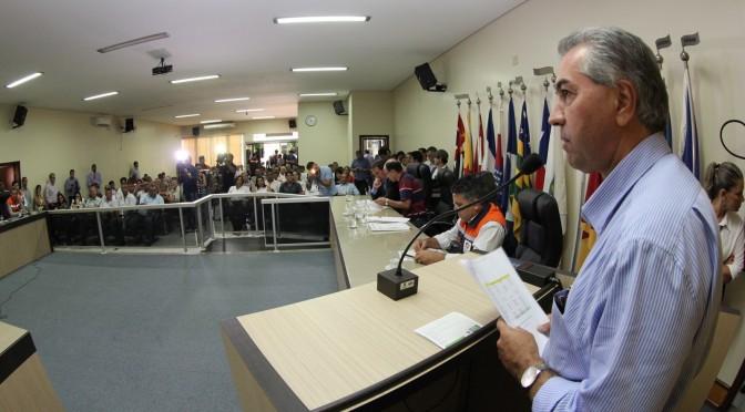 Estragos da chuva: Reinaldo e ministro criam força-tarefa com prefeituras