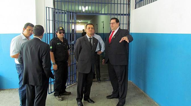 Governo do Estado melhora segurança e tratamento penal na Máxima da Capital
