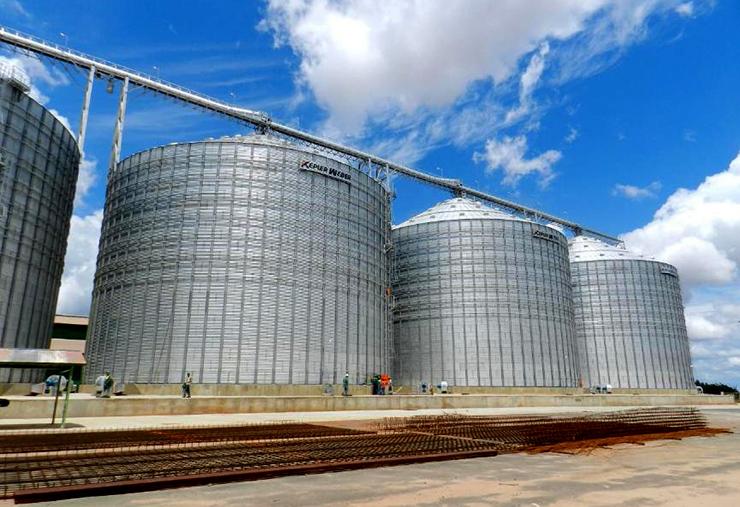 Cresce 4% a capacidade de armazenamento de grãos no Estado