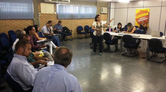 Aedes Aegypti: Saúde inicia capacitação de agentes de controle em secretarias