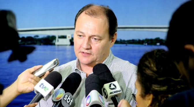 Secretário de Infraestrutura garante reconstrução de ponte em Guia Lopes