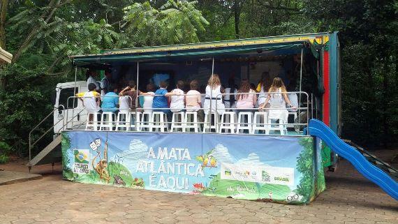Em Naviraí, Sanesul é parceira de projeto para preservação da Mata Atlântica