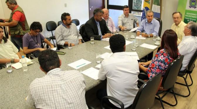 Governador confirma parceria para a 1ª Feira da Reforma Agrária em MS