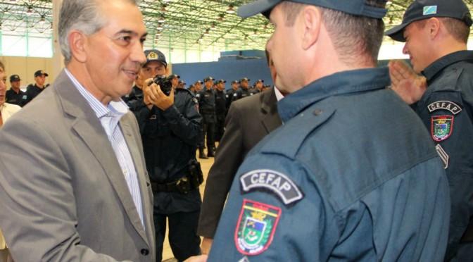 Governador destaca o fortalecimento da segurança pública em formatura de 507 cabos da PM