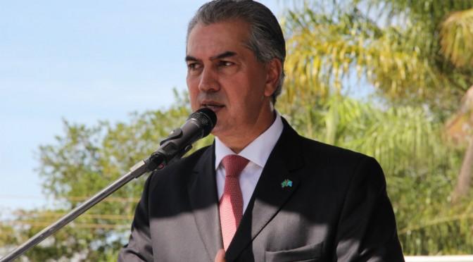 Exclusivo: Assista vídeo do governador Reinaldo Azambuja na inauguração de monitoramento em Corumbá
