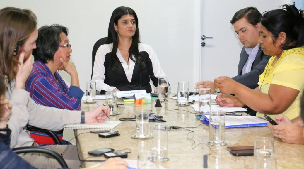 Vice-governadora pede apoio da ONU para solução de conflitos por terras em Mato Grosso do Sul