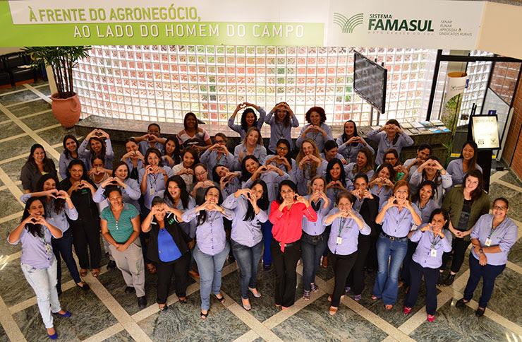 Mulheres ocupam 52% dos postos de trabalho no Sistema Famasul