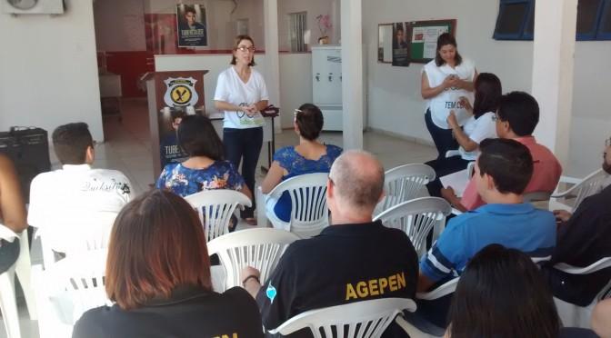 Servidores do sistema penitenciário recebem orientações sobre tuberculose