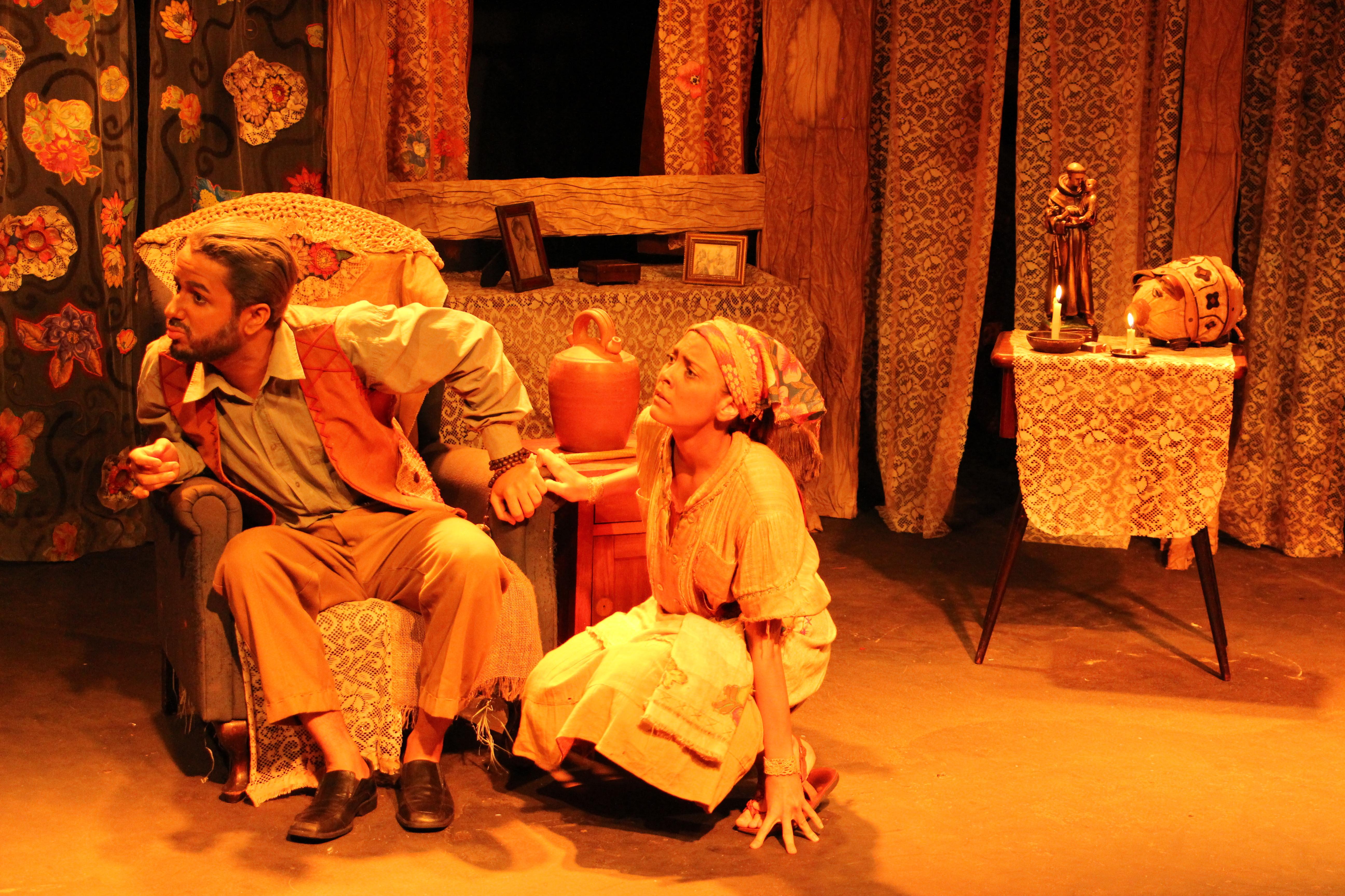 'O Santo e a Porca' abre a programação da mostra teatral 'Boca de Cena'