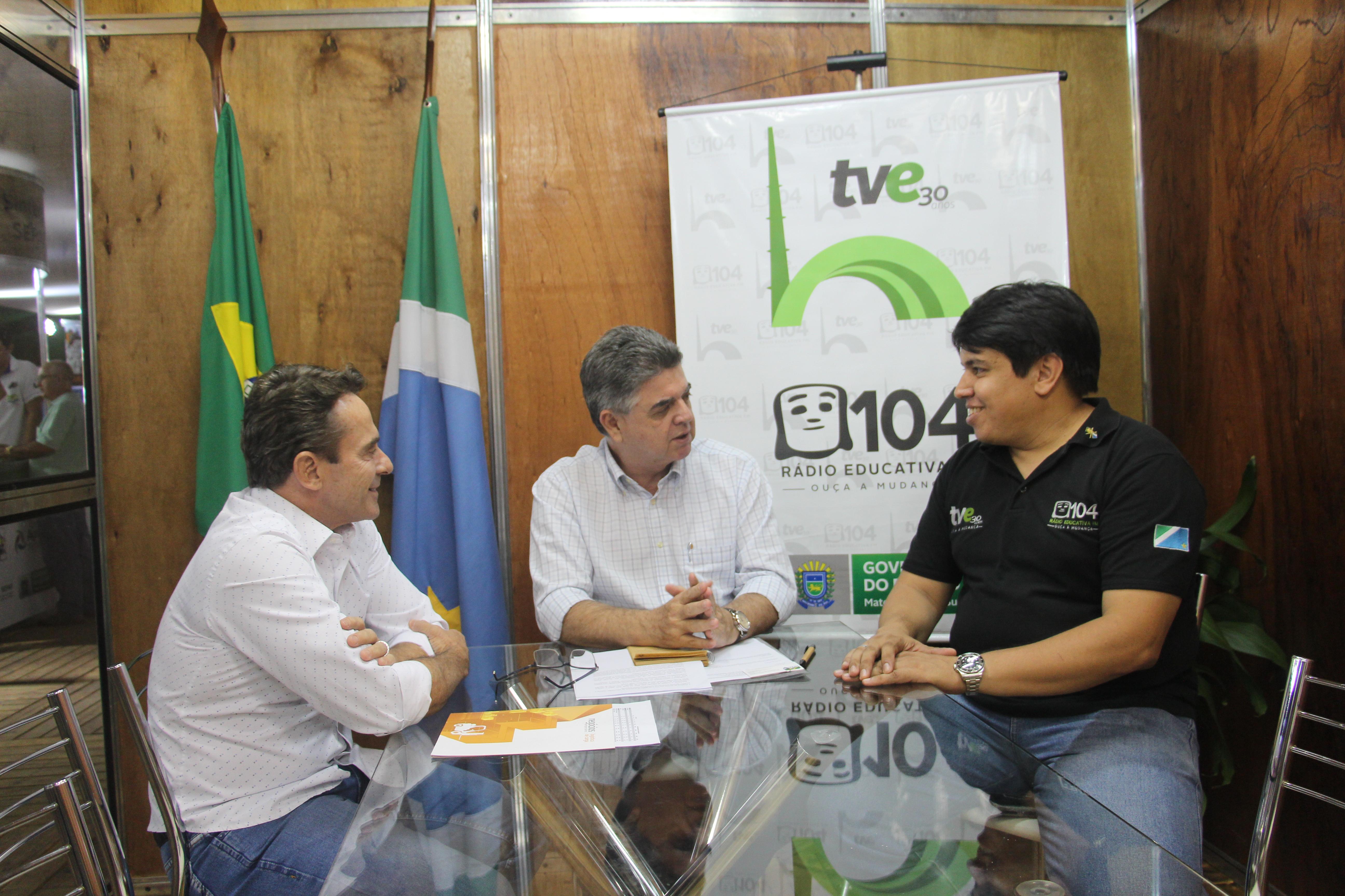 Expogrande: Entrevista com o secretário de Fazenda Márcio Monteiro
