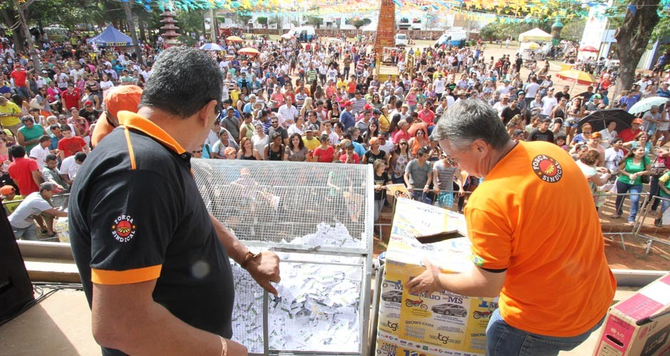 Festa do Trabalhador na Capital terá sorteio de carro zero e motos