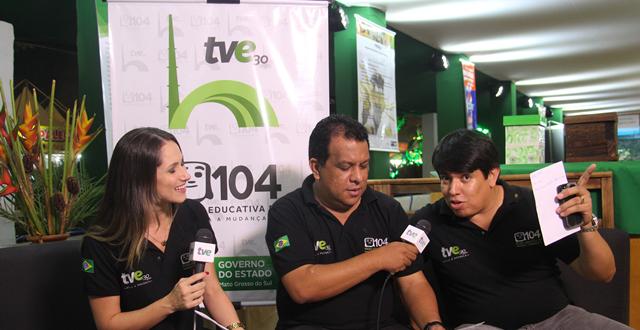 Confira a galeria de fotos do estande da RTVE na 78ª Expogrande.
