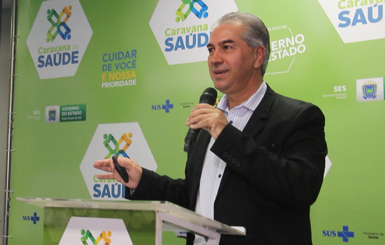 Caravana da Saúde: Reinaldo quer saúde descentralizada em MS