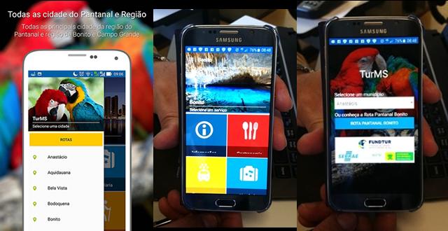 Sectei e Sebrae lançam aplicativo que facilita o acesso do turista a informações sobre a Rota Pantanal Bonito