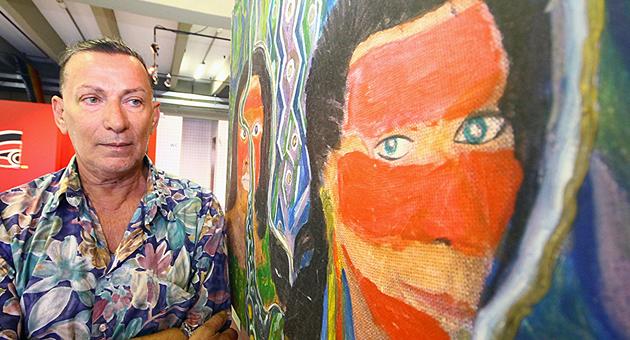Artistas Plásticos celebram todos os dias a vida com a arte