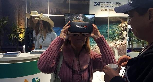 Belezas de Bonito são divulgadas através de realidade virtual