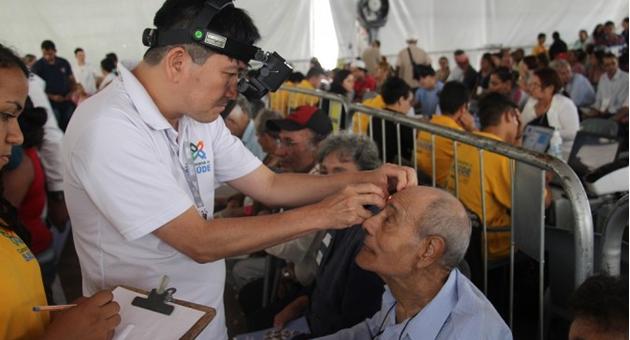 Caravana da Saúde inicia cirurgias oftalmológicas em idosos do Asilo São João Bosco