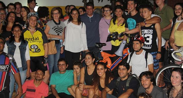 Pedal Cultural anima participantes da 14ª Semana dos Museus