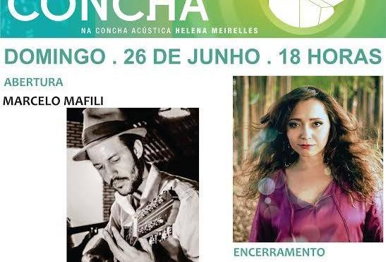 Som da Concha traz a viola de Marcelo Mafili e a voz de Giani Torres