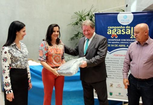 Tribunal de Justiça faz doação para Campanha do Agasalho do Governo