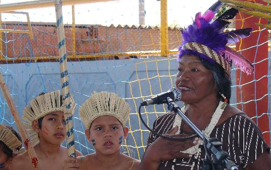 RTVE exibe dois programas em homenagem a grande líder indígena Enir Terena