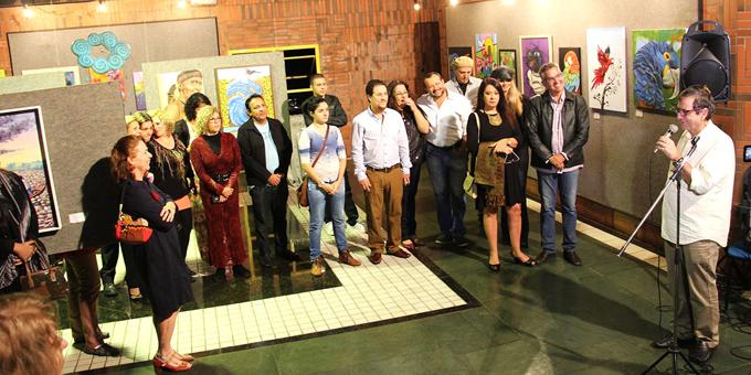Galeria de Arte da RTVE expõe trabalhos de 28 artistas plásticos da Confraria Sociautista