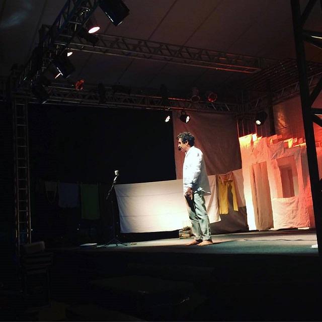 Ator Paulo Betti encanta público em Bonito com sua autobiografia