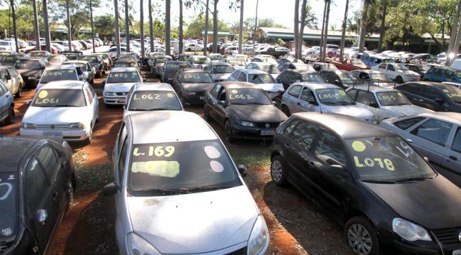 Detran leiloa 534 veículos em Campo Grande e Dourados