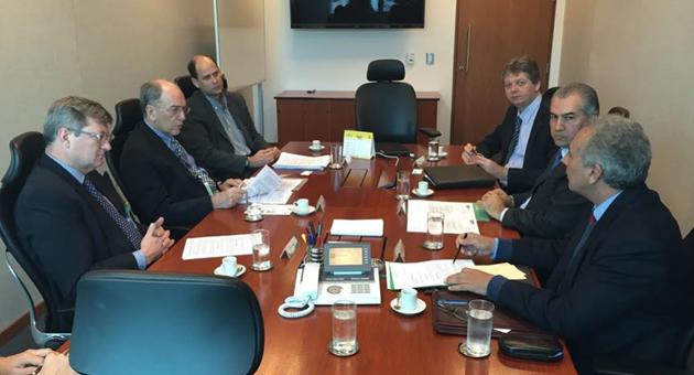 Petrobras garante a Reinaldo conclusão da obra da fábrica de fertilizantes em Três Lagoas