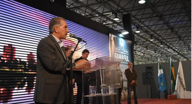 Reinaldo anuncia R$ 2,7 bilhões para logística em evento da cadeia produtiva da carne