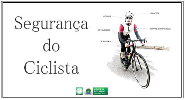 Equipamentos obrigatórios garantem segurança de ciclistas