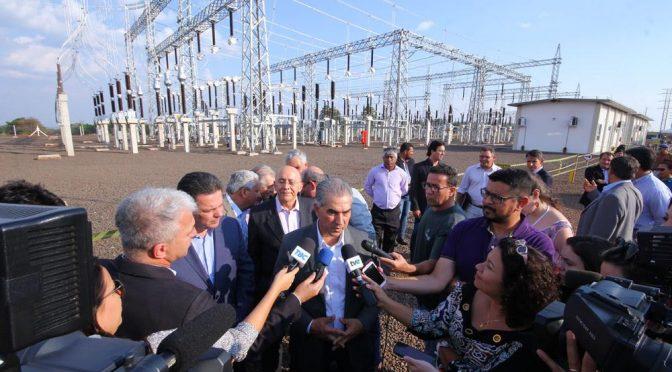 Inaugurada nesta quinta, subestação de energia aumenta competitividade econômica de MS