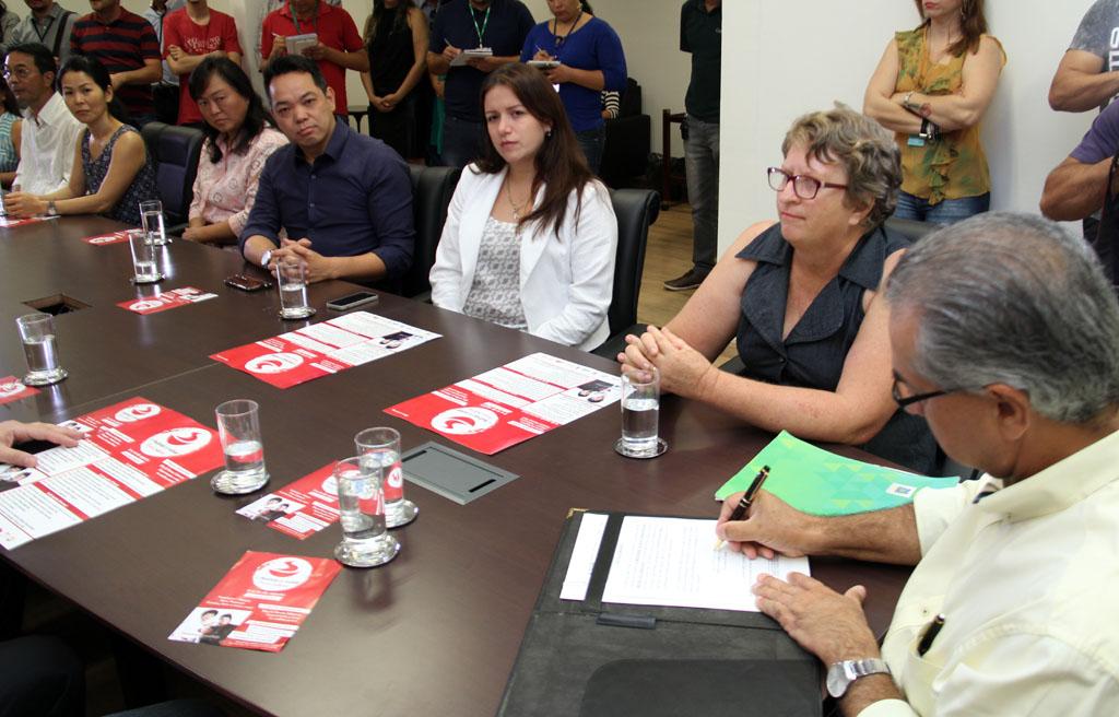 Governador assina termo de apoio ao XI Festival do Sobá