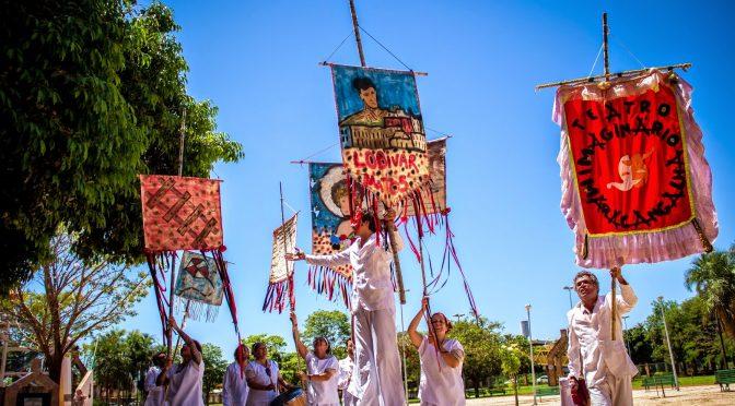 Imaginário Maracangalha celebra dez anos de luta e arte a céu aberto